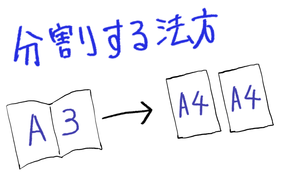 pdf 印刷 小冊子 順番
